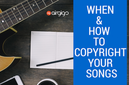 When & How To Copyright Your Songs