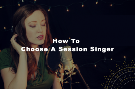 how to choose session vocalist