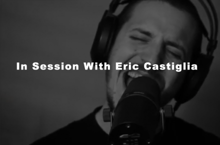 in session with Eric Castiglia