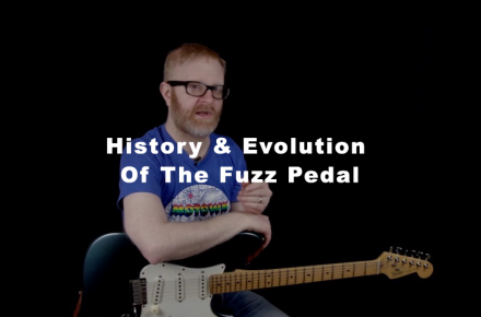History & Evolution Of The Fuzz Pedal