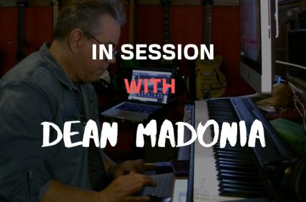 In Sesion With Dan Madonia