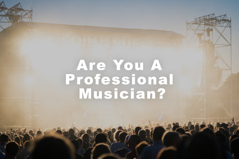 Are You A Professional Musician?