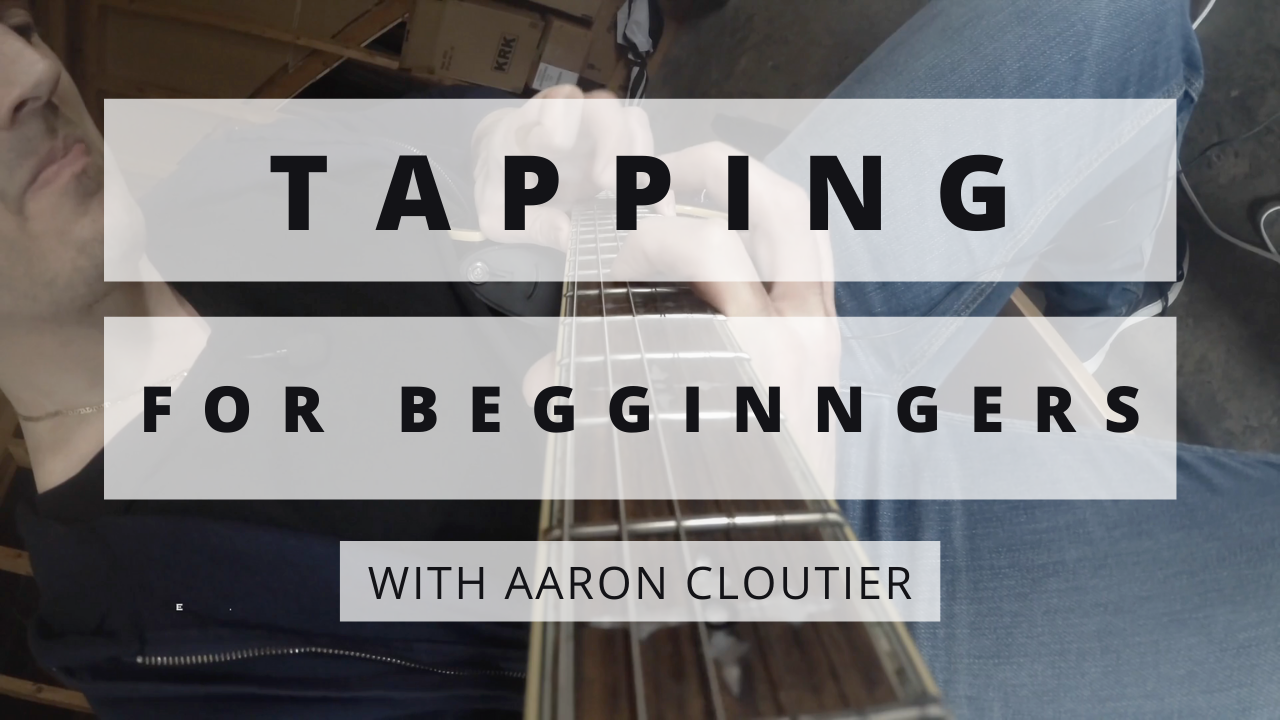 TAPPING For Begginners Thumbnail