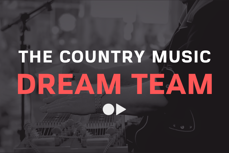 The Country Music Dream Team